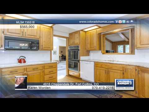 4916 Chippendale Dr  Fort Collins, CO Homes for Sale | coloradohomes.com