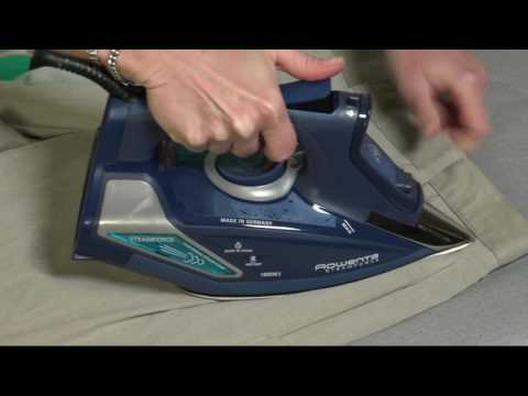 Rowenta Steamforce 1800W Iron with Electronic Steam Pump on QVC