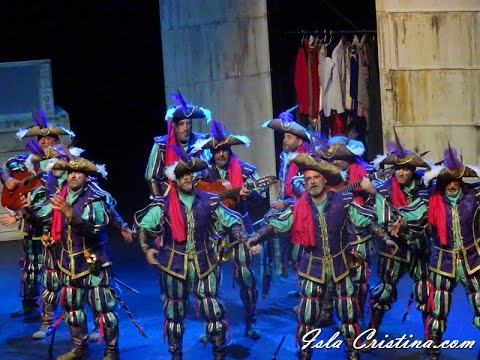 Final: Comparsa «Las batallitas del capitan Alegria»