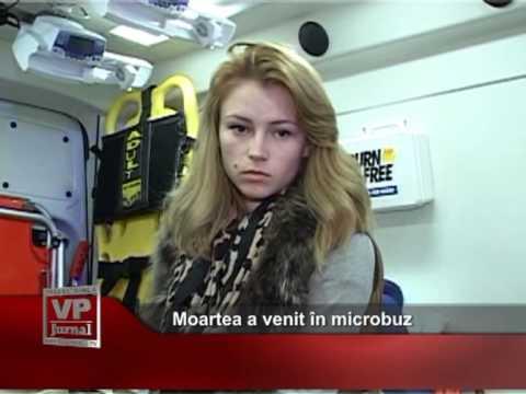 Moartea a venit în microbuz
