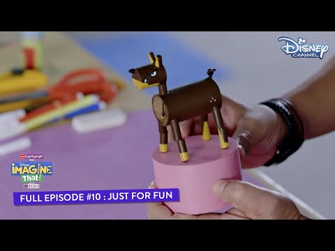 Disney Imagine That | Episode 10 | Just For Fun | Hindi | Disney Channel