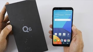 """LG Q6 Unboxing & Overview the Q6 has a 5.5"""" Screen in the 18:9 aspect ratio. It's powered by Snapdragon 435 SOC has 3GB..."""