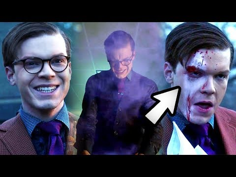 Did the Gas CAUSE Jeremiah's Insanity or Merely Change his Face? - Gotham 4x20 Review & Breakdown