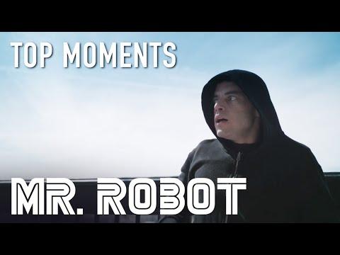 Mr. Robot | Darlene Saves Elliot During Police Chase | Season 4 Episode 5 | on USA Network