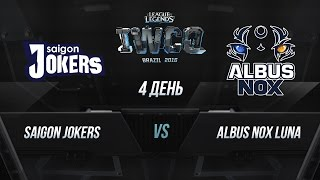 Jokers vs ANoX, game 1