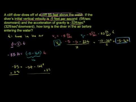 Applying Quadratic Functions 2
