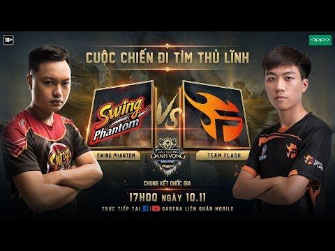 Chung Kết Đấu Trường Danh Vọng Mùa Đông 2018 - Team Flash vs Swing Phantom - Thời lượng: 4:16:54.