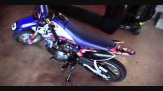 10. My 2006 GYTR  Yamaha TTR-50 Run/Walk around video.