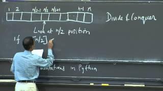 1. Algorithmic Thinking, Peak Finding