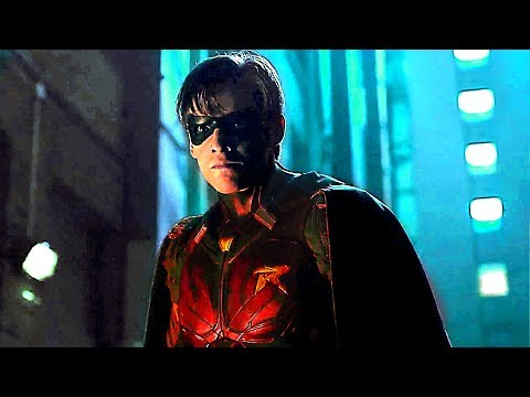 TITANS Extended Trailer  Teen Titans Live Action Series