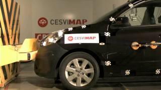 Bumper test delantero Nissan Micra