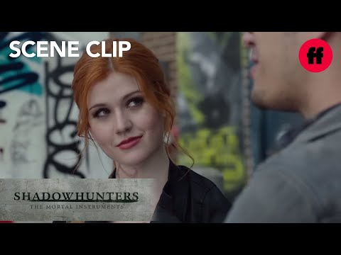 Shadowhunters | Season 1, Episode 5: Clary & Alec Meet with Simon | Freeform