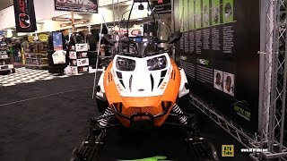 1. 2015 Arctic Cat BearCat XT Groomer Special Snowmobile - Walkaround - 2014 Toronto ATV Show