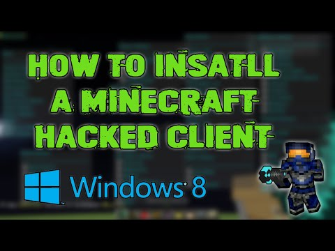 Minecraft 1.8 – 1.8.4 : How to install a hacked client (Windows 8 – 8.1)