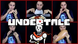 Video Bonetrousle - Undertale - Ocarina Cover || David Erick Ramos MP3, 3GP, MP4, WEBM, AVI, FLV Mei 2018