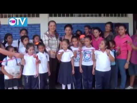 Niños de la escuela Miguel Larreynaga en Matiguás cuentan con mejor sistema de agua potable y saneamiento