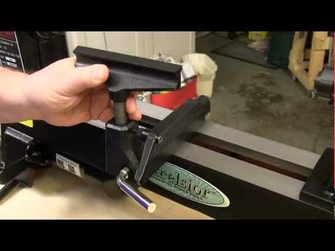 Excelsior Mini Lathe w/Optional Bed Extension Review: NewWoodworker