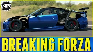 Forza Horizon 3 : BREAKING THE GAME!!! (No Panels Widebody Glitch)
