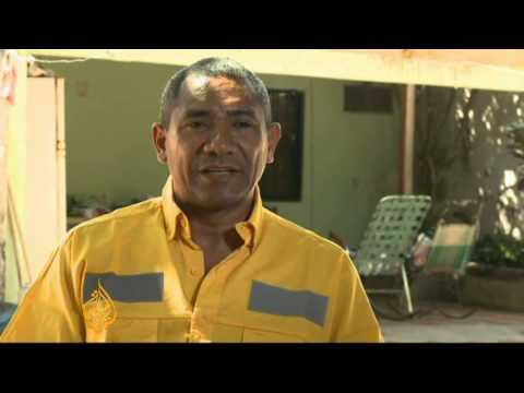 Colombia miners strike for better health facilities