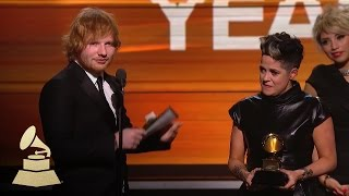 Video Ed Sheeran | Song of the Year | 58th GRAMMYs MP3, 3GP, MP4, WEBM, AVI, FLV Desember 2018