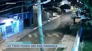 Câmera flagra suspeito que atirou na casa de advogados em Pederneiras