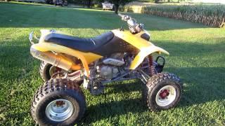 7. My 2001 Honda 400ex