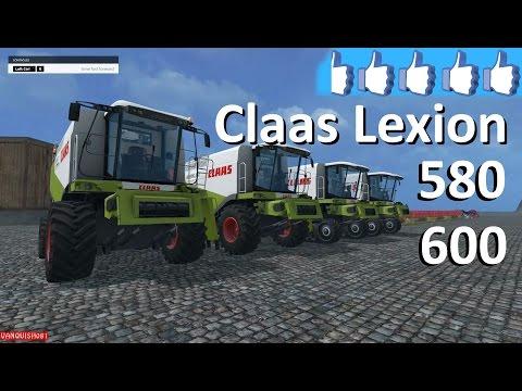 Claas Lexion 580/600 v1.5