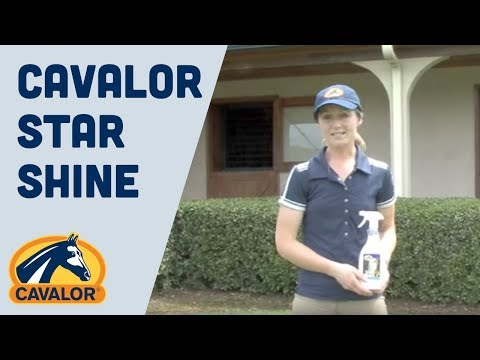 Cavalor Star Shine Spray 500ml Product Video