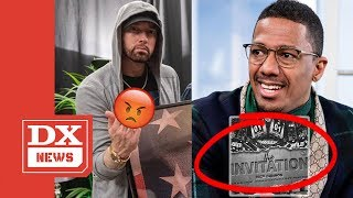 """Nick Cannon Drops Eminem Diss """"The Invitation"""" ft. Suge Knight - Mentions Kim & His Daughter Hailie"""