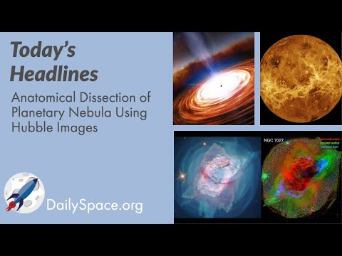 The Daily Space 19 January 2021: Anatomical Dissection of Planetary Nebula Using Hubble Images