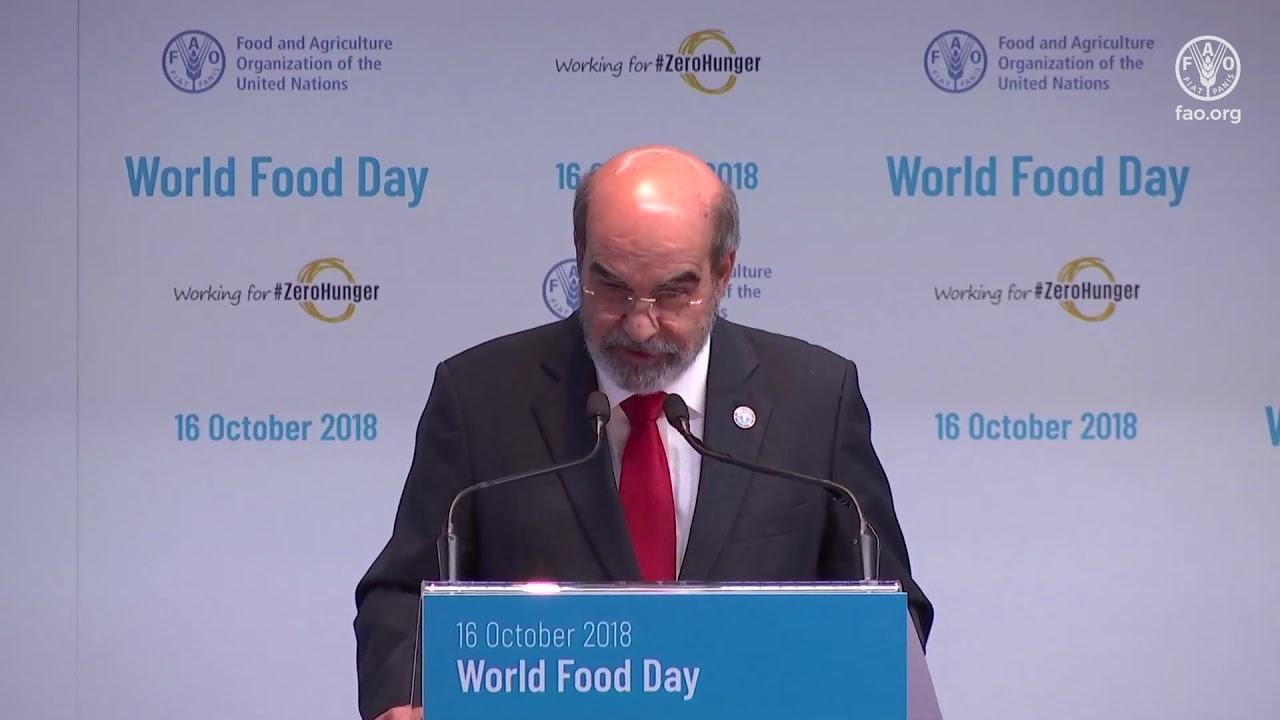 World Food Day Ceremony 2018
