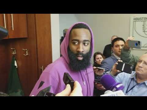 James Harden after his first game back from hamstring injury