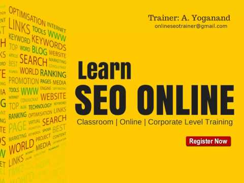 Best Online SEO Training in India With 5+ Years Experience in Digital Marketing