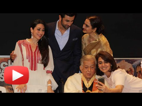 Shashi Kapoor Honoured With Dada Saheb Phalke Awar
