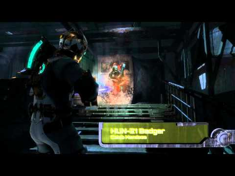 Dead Space 3 Tools of Terror Winner: HUN-E1 Badger