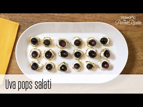 uva pops salati - ricetta