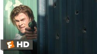Blackhat (2014) - Raiding Kassar's Hideout Scene (2/10) | Movieclips