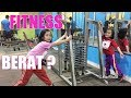 Lifia Niala ikutan Latihan Fitness Gym Workout Motivation for kids - VLOG @Lifiatubehd