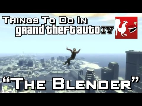 Gta - Gav and Geoff show you a slightly different way to travel the city. Make sure to fire that gun!