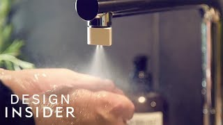 Nozzle Uses 98 Percent Less Water Than Regular Faucets