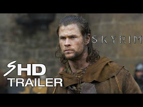 Skyrim (2018) - Movie Trailer #1 Concept Chris Hemsworth, Sam Worthington (Fan Made)