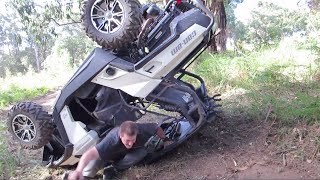 7. Bad Can Am Commander RollOver