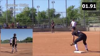 Download Video Hannah Vargas Skills Video 2020 Catcher Shortstop MP3 3GP MP4