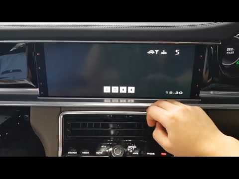 Panamera 2017 DTV Test (touch/button)