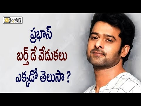 Prabhas Birthday Celebrations || Prabhas Birthday Special Video || Saaho Movie