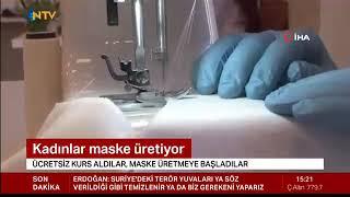 Patentini Aldığımız Özel Tasarım Yıkanabilir Kumaş Maskelerin Üretimi - Ntv