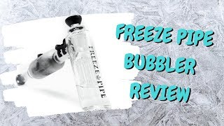 Freeze Pipe Bubbler Unboxing and Review by Chronic Crafter