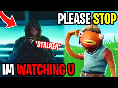My Sisters Stalker Attacked Me - Fortnite