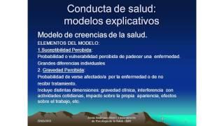 Umh4313 2012-13 Lección 003 Tema 2 Conducta De Salud Y Conducta De Enfermedad (1)