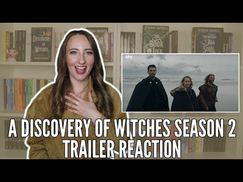 A Discovery Of Witches Season 2 Trailer Reaction